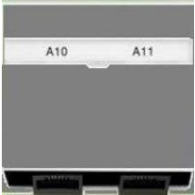 Лицевая накладка ТФ/компьютер графит/белый лед Neo 5014M-A00100 61