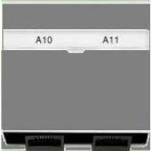 Лицевая накладка ТФ телефонная / комплект Neo 5014M-A00100 03 ABB белый цвет
