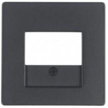 Накладка USB-розеток Berker Q.x10336086 антрацит