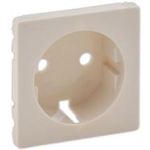 Лицевая панель для розетки 2К+3 с заземлением Valena Life 755201 слоновая кость