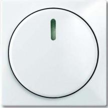 Лицевая накладка для светорегулятора поворотного  ABB Basic 55  2115-94-507 белый цвет