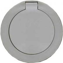 Лицевая накладка розетки Z с заземлением / крышкой Legrand Celiane 067841 белый цвет