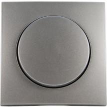 Лицевая накладка светорегулятора Fiorena металлик Hager / Polo