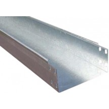 Лоток металлический 300х80 L-3000мм толщина стали 0,7 мм