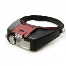 Лупа бинокуляры с подсветкой 1,5х3х6,5х8х Magnifier MG 81007