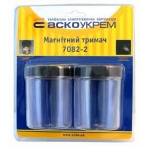 Магнитный держатель 7082-2 (емкость) 2шт Укрем Аско