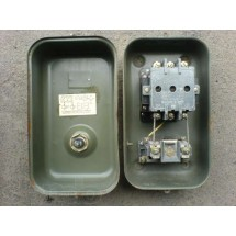Магнитный пускатель ПМЕ 222 25А 220 Вольт с тепловым реле