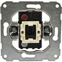 Механизм одноклавишного выключателя звонок 11001102 Polo / Hager