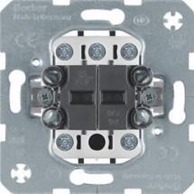 Механизм выключателя крестового Berker 10АХ/250В 3037 Hager / Polo