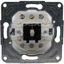 Механизм 2-клавишного универсального выключателя 11000802 Polo / Hager