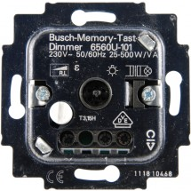 Механизм димера 6560 U-101 500Bт ABB Reflex / Bush Duro / Tango