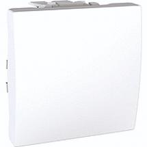 Выключатель проходной Unica MGU3.203.18 белый