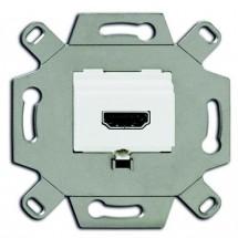 Розетка HDMI (BJE) 0261/32-500 ABB белая