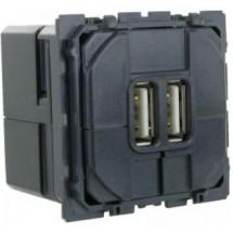 Механизм зарядное устройство 2*USB Celiane 67462