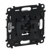 Механизм выключателя 1-клавишного Legrand Valena IN'MATIC 752001 10AX 250В самозажимные клеммы