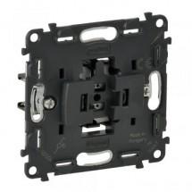 Механизм выключателя 1-клавишного Legrand Valena IN'MATIC 752016 10А 250В универсальный