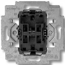Механизм выключателя 2-клавишного проходного 3559-А52445 ABB