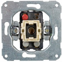 Механизм выключателя 2-клавишный 11000402 Hager / Polo