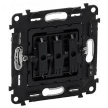 Механизм выключателя 3-клавишного Legrand Valena IN'MATIC 752003 10AX 250В самозажимные клеммы
