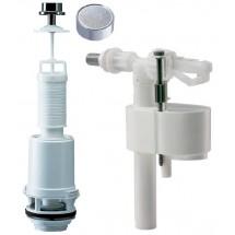 """Наполнительный клапан KK POL 1/2"""" для бачка унитаза с нижним подводом воды"""