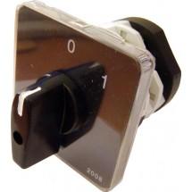 Пакетный кулачковый переключатель ПКП Е9 25А/2.833 (1-0) 3-полюса АСКО УкрЕм A0110010011