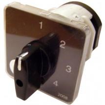 Пакетный переключатель ПКП Е9 40А/2.843 (0-1-2-3) выбор фазы Аско