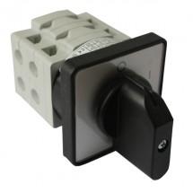 Пакетный кулачковый переключатель S25 JVD 1103 A6 0-1 3полюса SEZ без фиксации