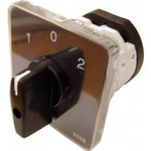 Пакетный кулачковый переключатель АсКо ПКП Е9 25А/2.832 (1-0-2 2 полюса) A0110010012
