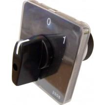 Пакетный кулачковый переключатель ПКП Е9 16А1.822 (0-1) (2 полюса) Укрем Аско