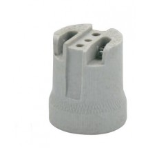 Патрон электрический керамический Horoz HL591 Е-27 белый