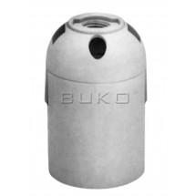 Патрон электрический пластиковый Buko BK258 Е-27 белый