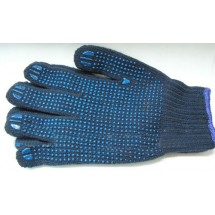 Перчатки рабочие 90-008 шерстяные с каплями ПВХ