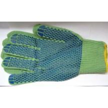 Перчатки рабочие 90-015 синие, зеленые