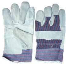 Перчатки рабочие замшевые серые 90-020