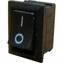 Переключатель YL211 -05 1-клавишный черный Укрем Аско A0140040007
