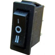 Переключатель 1-клавишный YL202-03 перекидной черный цвет Укрем Аско А0140040002