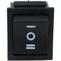 Переключатель YL 206 Аско перекидной черный