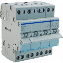 Переключатель ввода резерва трехпозиционный 230В/40А ,4-полюсный,4м,SFT440 (SF419G) Hager