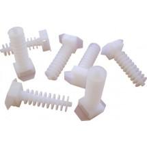 Площадка-дюбель для пластикового хомута СТН-1 АСКО A0150090025