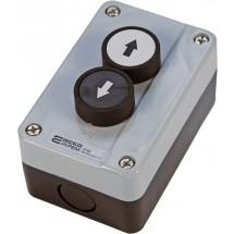 Пост кнопочный 2-х местный с кнопками XAL-В222 Вверх-Вниз