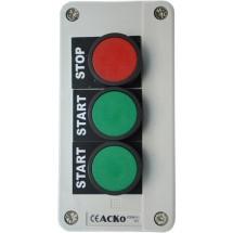 Пост 3 - кнопочный Старт1-Старт2-стоп XAL -В361Н29