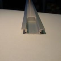 Профиль ПФ-15 накладной полуматовый (комплект) 2м 02100075