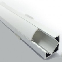 Профиль ПФ-17 угловой полуматовый (комплект) 2м