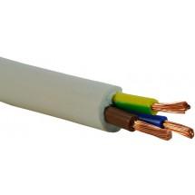 Провод ПВС 3х2.5 медный гибкий многожильный соединительный