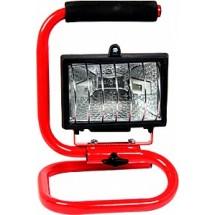 Прожектор E.NEXT e.halogen.base.500 переносной 500Вт l0140002 красный