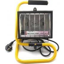 Прожектор HL107 R7S 500W переносной галогенный