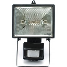 Прожектор MAGNUM LHF 500W черный с датчиком движения