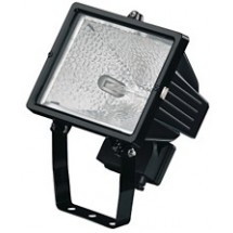 Прожектор галогенный Philips QVF415 HAL-TDS 500W BK, IP65 RX7s