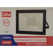Прожектор LED 100W 220V SMD IC холодный