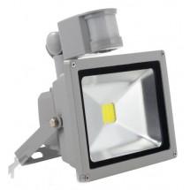Прожектор светодиодный LED с датчиком движения 20W Б-класс SENSOR белый